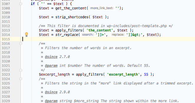 excerpt_length 调整 WordPress 文章摘要长度